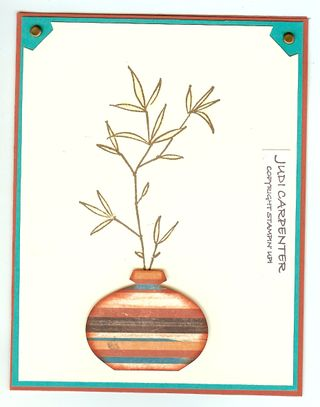 Ornament punch vase