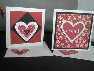 Valentine 3x3 cards 2 and 3