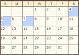 View My Online Calendar